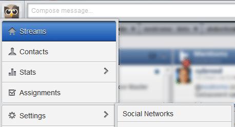 HootSuite settings preferences