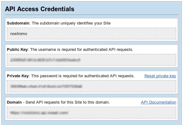 oneall.com API keys