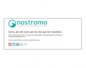 nostromo.nl - onderhoudspagina