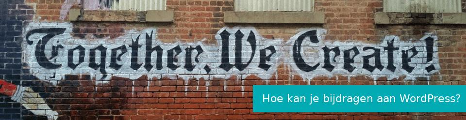 Bijdragen aan WordPress – zo doe je dat